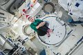ISS-50 Peggy Whitson sent holiday greetings from the Japanese Kibo lab.jpg