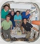 ISS crew inside Dragon C2
