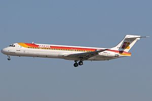 Iberia - McDonnell Douglas MD-87 (DC-9-87).jpg