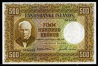 Iceland 500 Kronur banknote of 1928.jpg