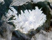 Iceland satellite