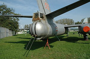Ilyushin Il-28 - An Il-28 at a Hungarian Museum, showing the tail mounted gun turret