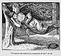 Illustrations by K. M. Skeaping for the Holiday Prize by E. D. Adams-pg-064-To-morrow she shall lie in a hammock all day.jpg