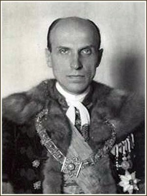 Béla Imrédy - Image: Imredybela