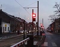 Inauguration de la branche vers Vieux-Condé de la ligne B du tramway de Valenciennes le 13 décembre 2013 (008).JPG