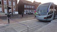 Inauguration de la branche vers Vieux-Condé de la ligne B du tramway de Valenciennes le 13 décembre 2013 (027).JPG