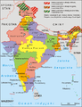 India administrative map 1999 PL.png