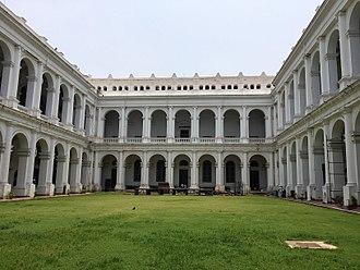 Indian Museum - View of the courtyard