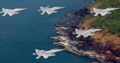 Indian Navy aircrafts in formation.png