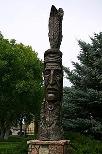 Indian Totem, Worland, Wyoming (4402346136).jpg