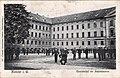 Infanterie-Regiment 13 im Innenhof der Aegiekaserne, Münster - Postkarte 1910.jpg
