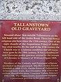 Information Plaque On Tallanstown Old Graveyard - geograph.org.uk - 1658969.jpg