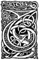 Initial at p.ix of Sir Gawain and the Lady of Lys (1907).png