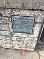 Inscription at the Richmond VA USA bridge known as the Boulevard Bridge State Route 161 facing south.jpg
