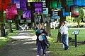 Installation von Alexandra Vigh beim LyrikPark 2008.JPG