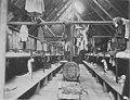Interior of bunk house in Clark and Lyford, Ltd Camp 2 on Booker Lagoon, Broughton Island, British Columbia, June 18, 1917 (AL+CA 7791).jpg