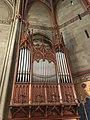 Interior of the chapelle des Maccabées - organ.JPG