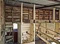 Interior of the late 1800 & early 1900s Cowshed (19790242702).jpg
