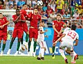 Iran and Portugal match at the FIFA World Cup 2018 9.jpg