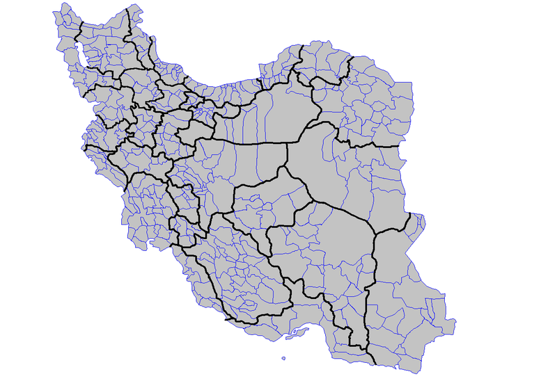 فائل:Iran counties.png