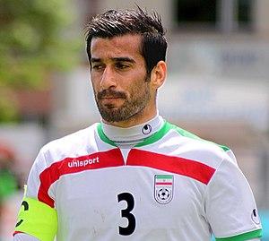 Ehsan Hajsafi - Haji Safi in 2014