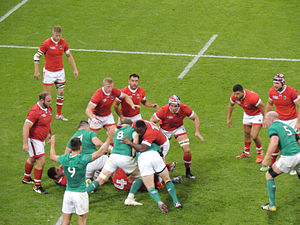 2015 Rugby World Cup Pool D - Image: Ireland vs Canada 2015 RWC (1)