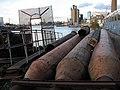 Iron tubes on the riverside - geograph.org.uk - 1572148.jpg