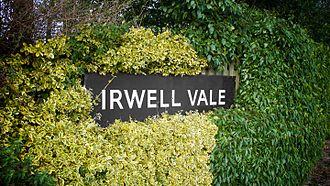 East Lancashire Railway - Irwell Vale Railway station signage