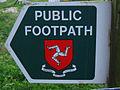 Isle of Man public foodpath sign.jpg