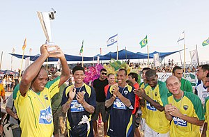 FIFA Beach Soccer World Cup - Brazil national beach soccer team: 13 times winners