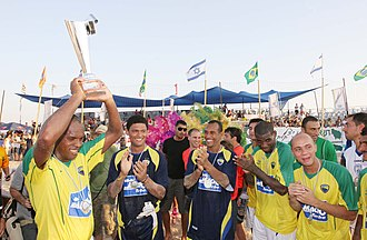 FIFA Beach Soccer World Cup - Brazil national beach soccer team: 14 times winners