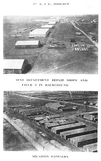 30th Bombardment Squadron - Issodun facilities, Summer 1918