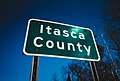 Itasca County, Minnesota - County Line Road Sign (26996711388).jpg