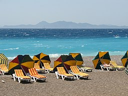 Ixia beach Rhodes Greece 1