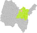 Izernore (Ain) dans son Arrondissement.png