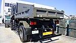 JASDF Dump Truck (UD Quon, 47-2377) left rear view at Komaki Air Base February 23, 2014.jpg