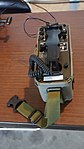 JASDF OHT-2003M field telephone at Aibano Sub Base Novenber 28, 2015 01.jpg