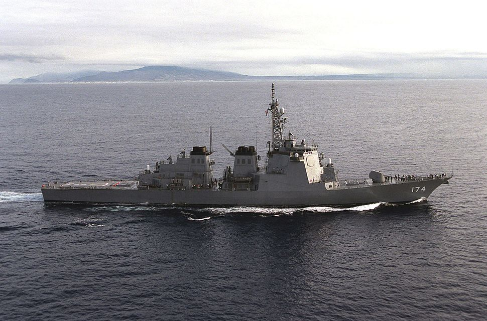 JDS Kirishima, Kongo-class destroyer, 1998