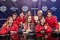 JESC 2018 partisipants. Anna Filipchuk with her team (Russia) (4).jpg