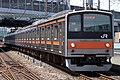 JR East 205-5000 Musashino Line 20180121.jpg