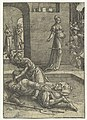 Jaël doodt Sisera Kleine serie Vrouwenlisten (serietitel), RP-P-OB-1804.jpg