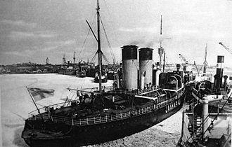 Jääkarhu - Jääkarhu in the port of Hanko.