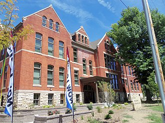 School Number 6 (Davenport, Iowa) - Image: Jackson Renaissance Davenport