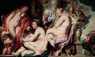 Pandrosus - Image: Jacob jordaens erichtonius