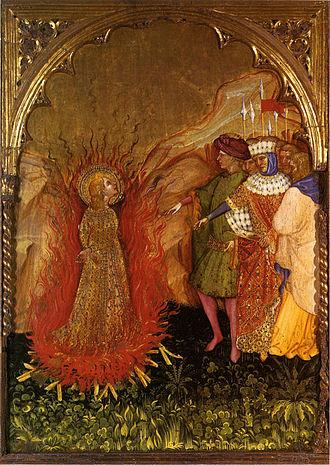 Jacobello del Fiore - Jacobello del Fiore: Stories from the Life of St. Lucy, Fermo, Pinacoteca Civica