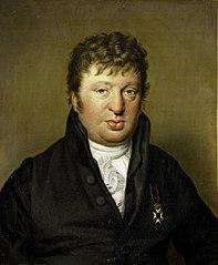 Portrait of Jacobus Scheltema, Historian