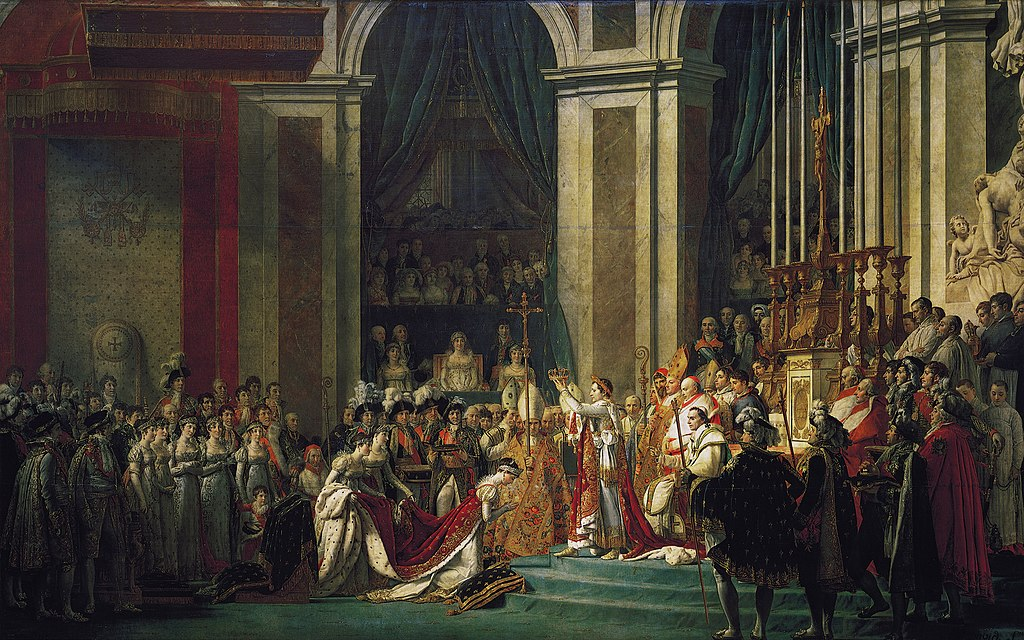 Emmanuel Macron - Page 4 1024px-Jacques-Louis_David%2C_The_Coronation_of_Napoleon_edit