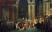 Jacques-Louis David, The Coronation of Napoleon edit