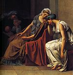Jacques-Louis David - The Oath of the Horatii (detail) - WGA6055.jpg