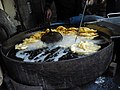 Jalebi making process at Old and famous Jalebiwala shop at Chandni Chowk, DelhiIMG 20150401 135811.jpg